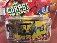 The CORPS Special Action Squad COMMAND COPTER w/Detachable Missiles Lanard MOC
