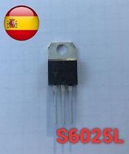 S6025l 6025 tiristor 600v to-220 1-70 amps envío rápido desde España