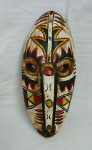 Decorative ethnic wooden mask | Thames Hospice
