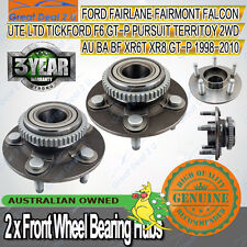 2 x Ford Falcon Front Wheel Bearing Hub AU/BA/BF XR6 XR8 SEDAN WAGON UTE TURBO