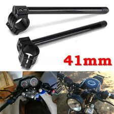 "41mm Fork Motorcycle 7/8"" Handlebar Clip-on For Honda CBR600 F1/F2/F3 Yamaha R3"