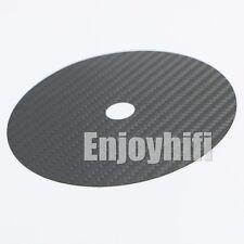 Audio CD Tuning Mat Stabilizer Carbon Fiber Up Grade HIFI clamp Top Tray Player