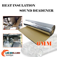 "Heat Insulation Shield/Sound Deadener Reflect Mat w/Adhesive 18''x39'' 1/4""Thick"