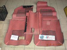 SERIE TAPPETI GOMMA (CAR MATS) 610146 FIAT TIPO (146) ROSSO VALENTINI