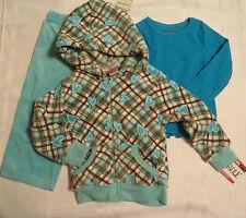 ARIZONA Girls 2T Velour Pants Ivy's Vine S Shirt Girls Rule 3T Hooded Jacket NWT