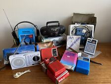 Collection of Vintage 1980s Transistor Radios