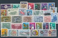 [G379342] Luxembourg good lot of stamps very fine MNH