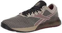 Reebok Men's Nano 9 Cross Trainer, Light Sand/Black/White, Size 10.5 9lPZ