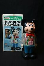 """New listing 1970's """"Mr."""" Mickey Mouse Mechanical Robot Toy in box Working!"""