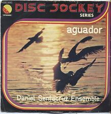 "DANIEL SANTACRUZ ENSEMBLE - Aguador - VINYL 7"" 45 LP ITALY 1975 VG/VG- CONDITION"
