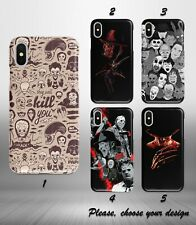 Halloween Horror case for iphone 11 pro max XR X XS SE 2020 8 7 plus 6 5 + SN