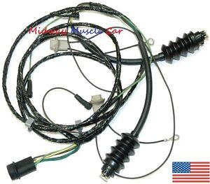 rear body tail light lamp wiring harness 69-72 Chevy GMC pickup truck blazer