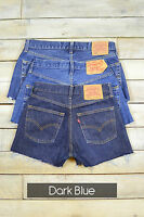 GRADE A LEVIS VINTAGE WOMENS HIGH WAISTED DENIM SHORTS SIZE 6 8 10 12 14 16 18
