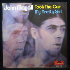 """7""""unique JOHN MAYALL - took (a pris) the car (voiture) / my jolie fille, nm"""