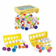 Matching Eggs Set Egg Toys Shapes Educational Puzzle Gifts for Kids Toddlers