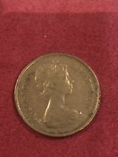More details for 46th birthday anniversary old style 5p new pence coin 1975 rare