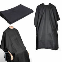 Hair Dresser Cutting Cape Gown Black Salon Barbers Hairdressing (Brand New)