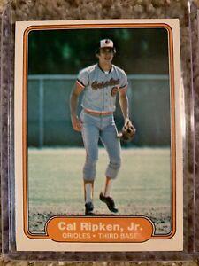 1982 Fleer Cal Ripken Jr. Rookie Card RC #176 Orioles O2