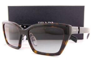 Brand New Prada Sunglasses PR 14XS 2AU 0A7 Havana/Grey Gradient For Women