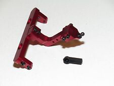 YY-MADMAX AXIAL SCX10 ALUMINUM ADJUSTABLE BUMPER TOW TRAILER HITCH RED