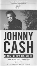 Johnny Cash Reads The New Testament, NKJV, Audio Book, 16 CDs, Unused & Sealed