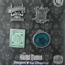 Disney Parks Haunted Mansion Pins Parks Booster Trading Pin Set Pack