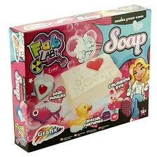 Fab Labz Luxury Soap Science Childrens/Girls Science/Craft Educational Kit Set