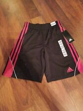 Boys New Adidas Shorts Size 8-10