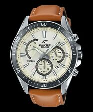 Casio Business Analog Mens Edifice Brown Watch Efr-552l-7a