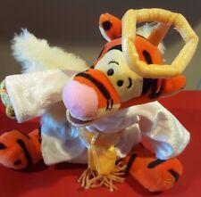 """Disney 9"""" Choir Angel Tigger Mini Bean Bag Beanie orig tags from Winnie the Pooh"""