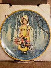 "Vintage Edwin Knowles ""Easter"" Collector Plate. Jessie Willcox Smith."