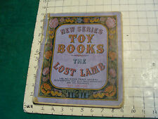 vintage paper: c.1880 THE LOST LAMB toy book, Religious Tract Society