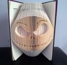 Book Folding Pattern Cut and Fold Jack Skellington Nightmare Before Christmas