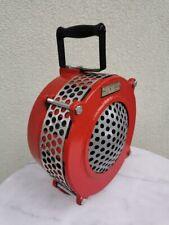 Vintage hand crank mechanical alarm, sirena. 1973. Restored.