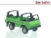 Roco miniatur modell H0 1704 Steyr Puch Pinzgauer 4x4 Geländewagen grün Neu