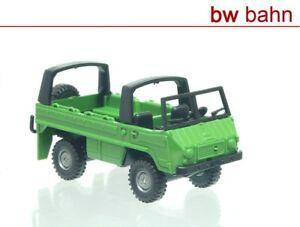 Roco Miniature Model H0 1704 Steyr Puch Pinzgauer 4x4 SUV Green New