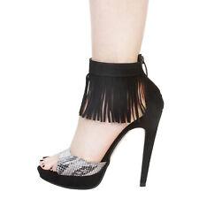 V 19.69 OCEANE Damen Schuhe High Heels Pumps Stilettos Python Gr. EUR 36 NEU