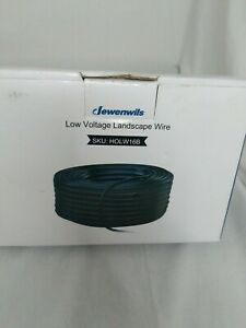 Dewenwils 16/2 Low Voltage Landscape Wire Copper Cable 100 Feet