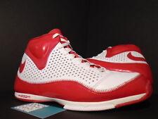 2007 Nike ZOOM BB II 2 BASKETBALL WHITE RED SILVER STEVE NASH 317993-162 11.5