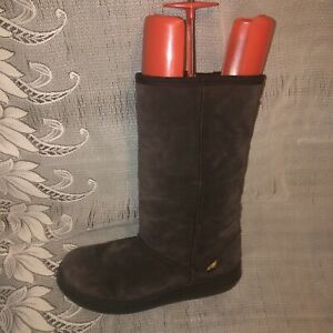 ROCKET DOG SUEDE THERMAL LINED BOOTS - UK 6