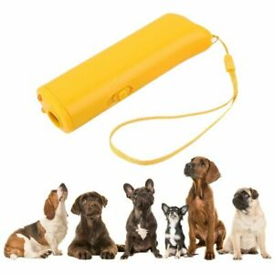 Anti Barking Training Device Pet Dog Repeller Stop Bark Trainer LED Ultrasonic