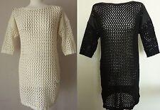 Zara 3/4 Sleeve Casual Tunic Dresses for Women