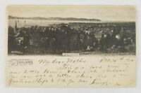 Postcard Greetings From Tarrytown New York Skyline View 1905