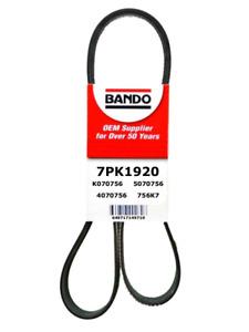 BANDO 7PK1920 OEM Serpentine Drive Belt Fit 2006-2010 Scion tC 2.4L L4