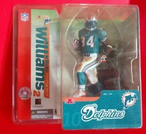 2004 MCFARLANE RICKY WILLIAMS 2 MIAMI DOLPHINS ACTION FIGURE