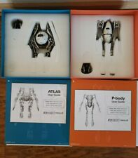 ThreeA Ashley Wood 3A Valve Store Steam PORTAL ATLAS P-BODY Figure 2 Pack Rare
