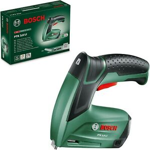 Bosch PTK 3.6 LI Cordless Tacker with Integrated 3.6 V Battery USB Charger