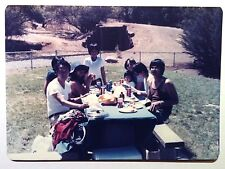 Vintage Photography PHOTO FUN FAMILY EATING & DRINKING CAN BEER & CAN COLA SODA