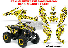 AMR Racing DECORO GRAPHIC KIT ATV CAN-AM Renegade, ds250, ds450, ds650 SKULL CAMO B