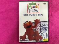 Sesame Street DVD El Monde De Elmo - Danse Musique Y Livres - Planeta Junior